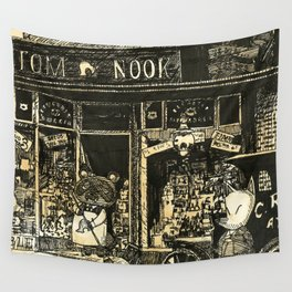 Nook's Grocery and C. Redd's Mobile Art Emporium Wall Tapestry