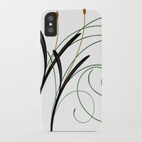 grass iPhone & iPod Cases featuring Grass by DistinctyDesign