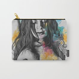 Paint a Vulgar Picture | female nude erotic portrait Carry-All Pouch