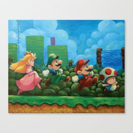 Super Mario Bros 2 Canvas Print