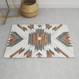 Urban Tribal Pattern No.8 - Aztec - Wood Rug