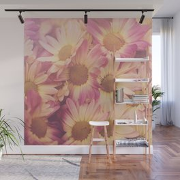 Sun Drenched Daisies Wall Mural