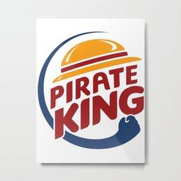 Pirate King Metal Print