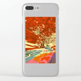 A bird never seen before - Fortuna series Clear iPhone Case