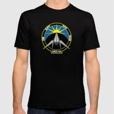 The Lylat Space Academy Mens Fitted Tee Black MEDIUM