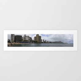 Diamond Head, Hawaii Art Print