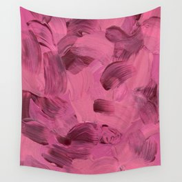 Solstice - Pink Wall Tapestry