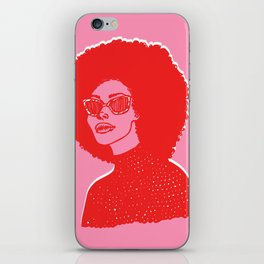 Kara Pink iPhone Skin