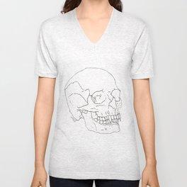 Vamp Skull Unisex V-Neck