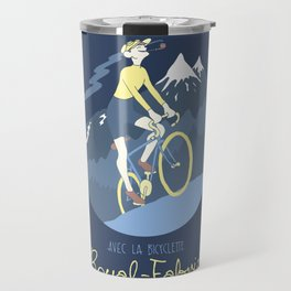 Avec la Bicyclette Travel Mug