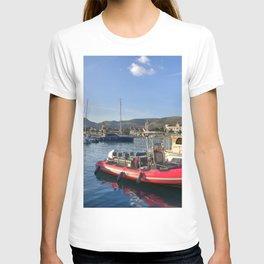 Trogir Red Boat Vista  T-shirt