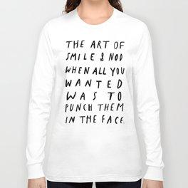THE ART OF Long Sleeve T-shirt