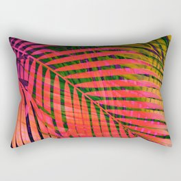 COLORFUL TROPICAL LEAVES no4B Rectangular Pillow