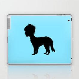 Lurcher girl Laptop & iPad Skin