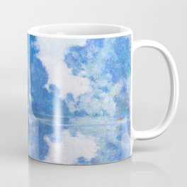 Morning on the Seine near Giverny by Claude Monet Coffee Mug