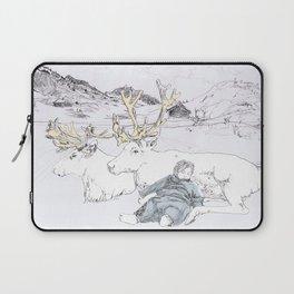 Two Reindeers Laptop Sleeve