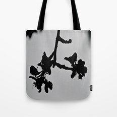 Blooming Silhouette Tote Bag