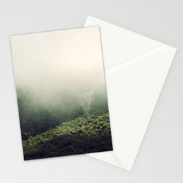 morning mist Stationery Cards