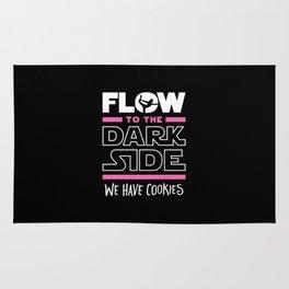 Flow To The Dark Side We Have Cookies Rug