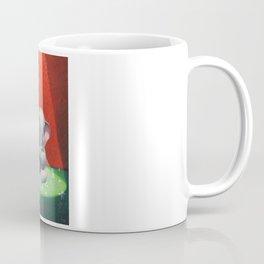 the elephant and its folds. Coffee Mug