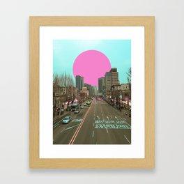 首爾落日 /// Seoul Sunset Framed Art Print