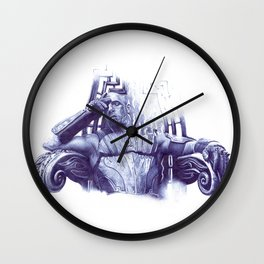 king Riddick  Wall Clock