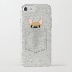 Pocket French Bulldog - Fawn iPhone 7 Slim Case