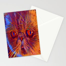 Purrplexing Stationery Cards