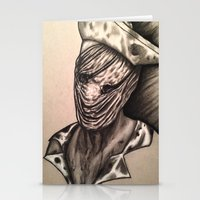 silent hill Stationery Cards featuring Silent Hill Nurse  by foulestgrunt187