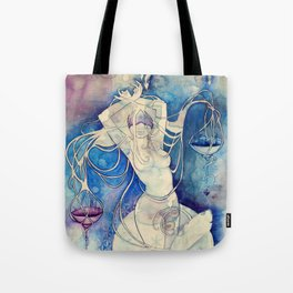 Goddess of Libra - An Air Element Tote Bag