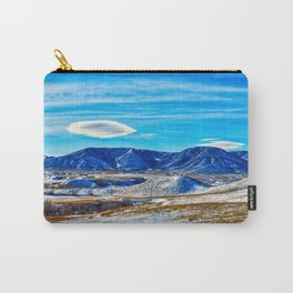 Wyoming Winter Nature Carry-All Pouch