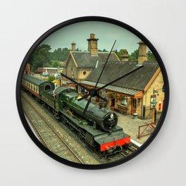 Bradley Manor at Arley Wall Clock
