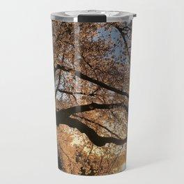Cherry Blossoms at the Tidal Basin Travel Mug