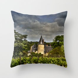 Château de Tracy, France Throw Pillow