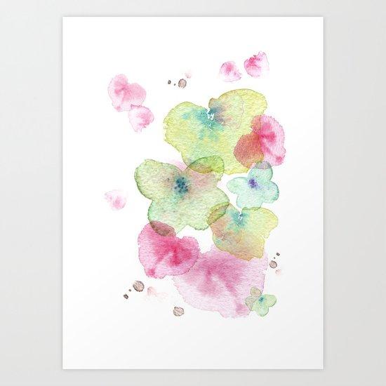 Butterfly effect 2 Art Print