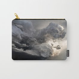 Fist of Fury - Storm Packs a Punch Over Oklahoma Plains Carry-All Pouch
