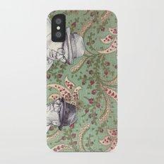 Old Men iPhone X Slim Case