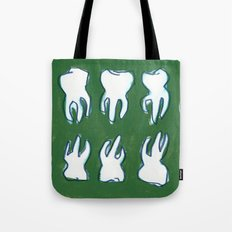 molar pattern Tote Bag