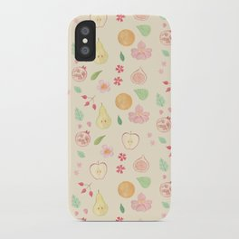 Fruit and Flora iPhone Case