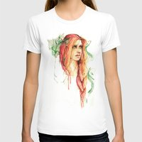 flora T-shirts featuring Flora by ArtbyLumi