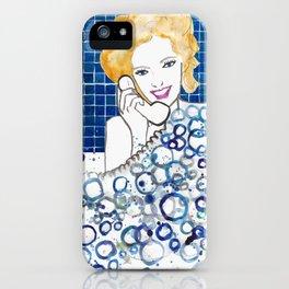 Bubble Bath iPhone Case