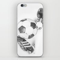 football iPhone & iPod Skins featuring Football by Dianadia