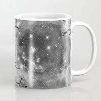 big bang Mugs featuring Big Bang by Beyond Infinite