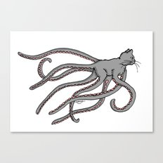 Octopussy (2014) colour Canvas Print