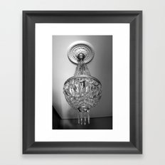 Antique Chandelier Photography Framed Art Print