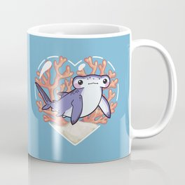 NIBBLE the Hammerhead Shark Coffee Mug