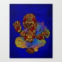 buddah Canvas Prints featuring Buddah  by Darkhorse