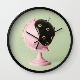 Chapapote Wall Clock