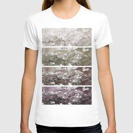 Vincent Van Gogh Almond Blossoms Brown Beige Panel T-shirt