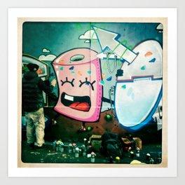streetphotography paris Art Print